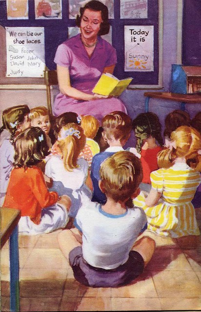 vintage ladybird books going to school an image from go flickr