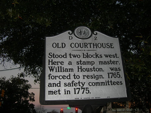 Old New Hanover County Court House Marker | by jimmywayne