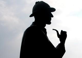 Statue of Sherlock Holmes - London