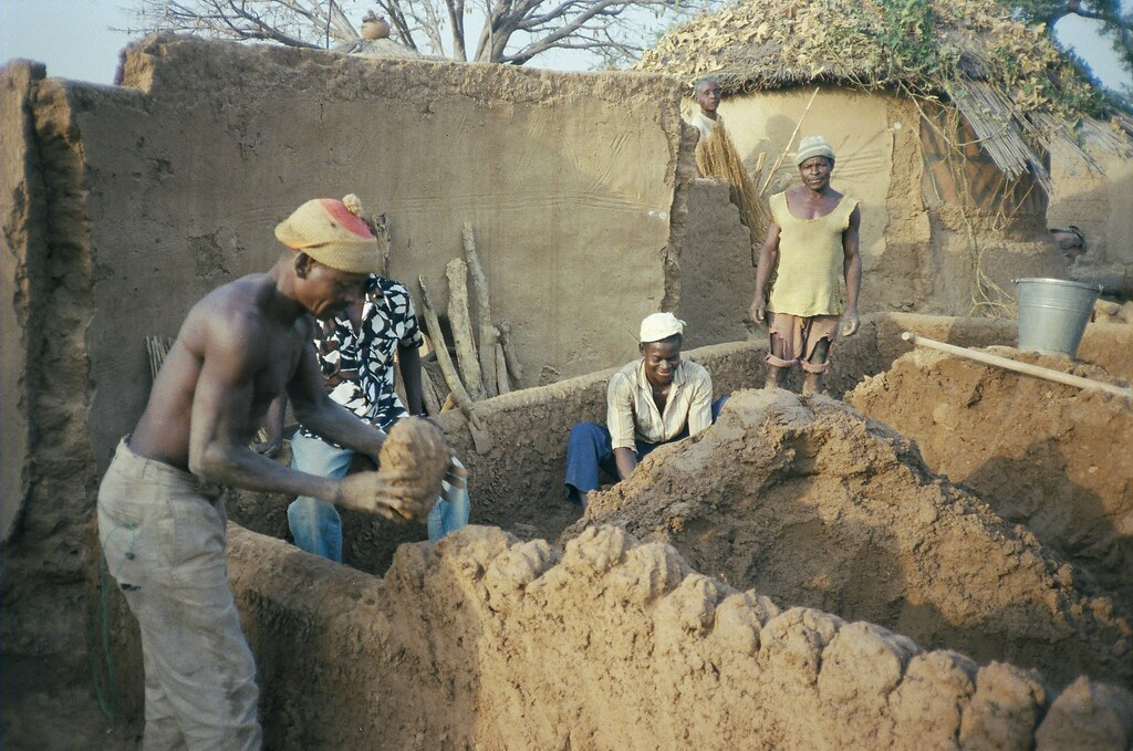 Building A Mud Brick House