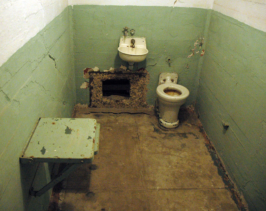 Alcatraz Escape Hole