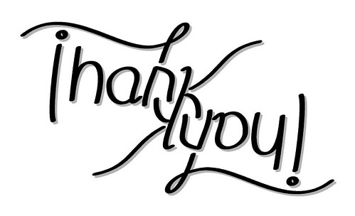 Thank you Ambigram | by Amafirlian