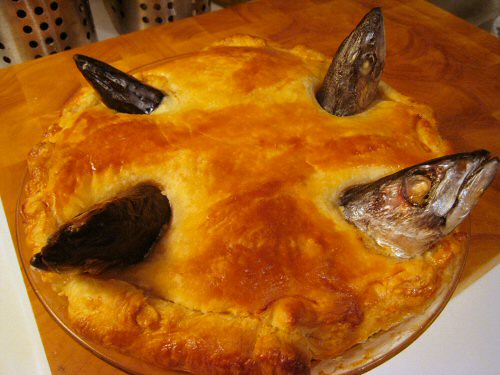 baked stargazy pie | by goodiesfirst