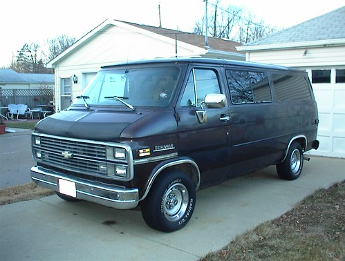Richard Thom 84 Chevy G20 Quot Attached Is A Photo Of My