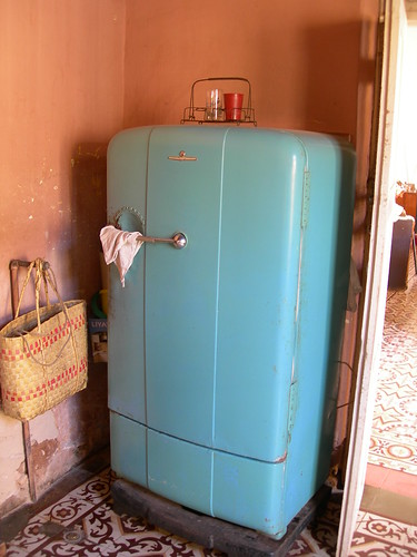 1950's fridge in a house in Trinidad | by simon_white