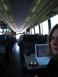 Bus to NYC | by Librarian Avenger