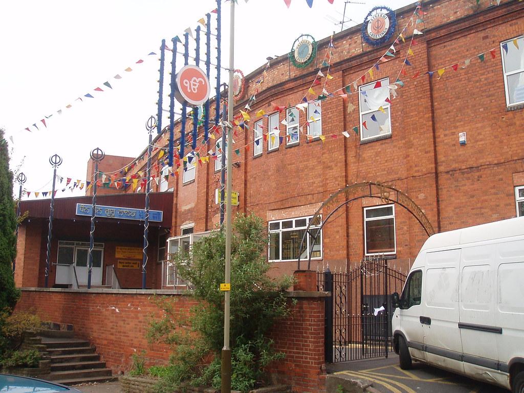 Guru Nanak Gurdwara Temple Holy Bones Leicester Not