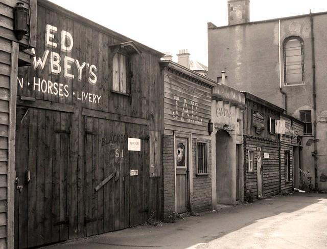 Old Town Santa Fe >> Wild West Street Scene | Edinburgh's Wild West Town - a form… | Flickr
