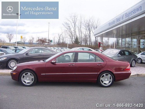 2003 Mercedes Benz S600 V12 Bordeaux Red 2003 Mercedes