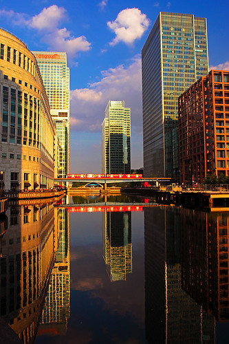 Canary Wharf Reflections | by kayodeok