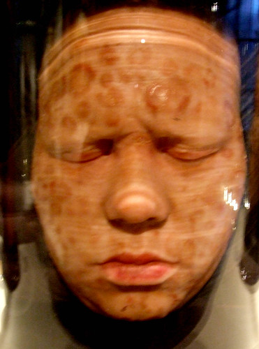 Head in a jar ii wax head used as medical teaching aid for Heads in jar