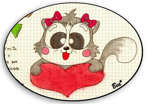 Dibujos de color de amor  Imagui