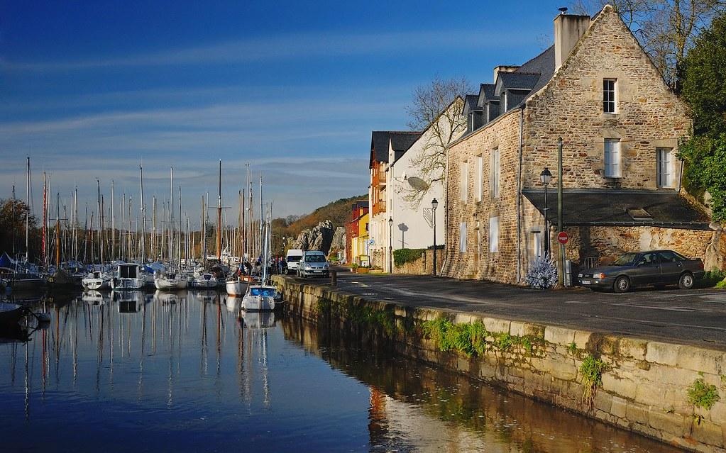 Port De La Roche Bernard En La Roche Bernard Port Ile Et Flickr