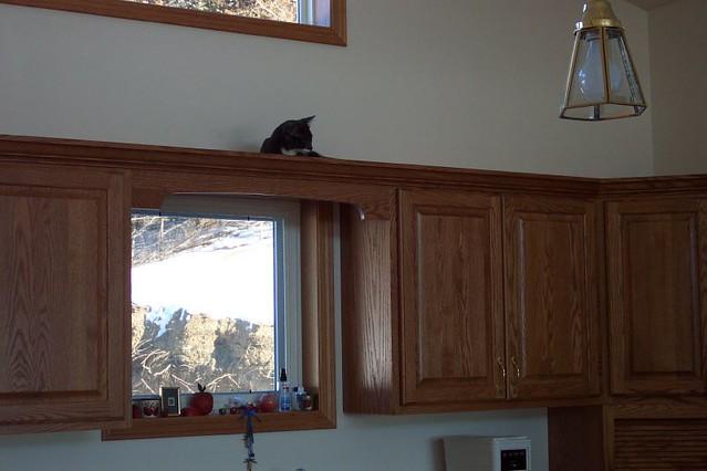 Above Kitchen Sink Decor
