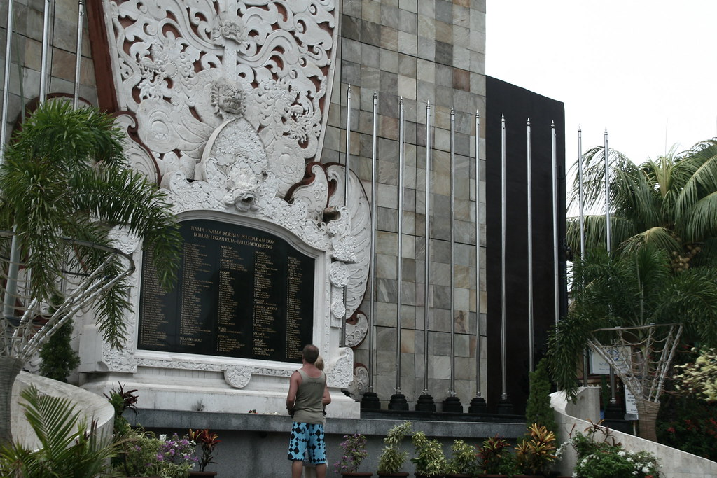 Monument for the people who died in the Bali Bombing