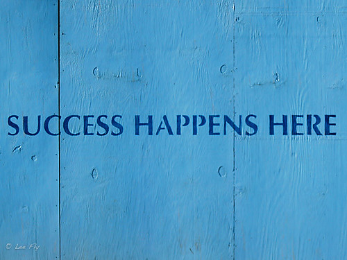 Success Happens Here | by L33Fly