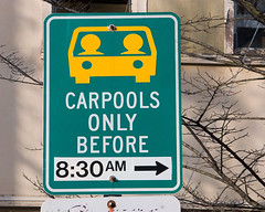 Carpool parking sign | by Richard Drdul