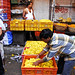 Petals, Toil and Business at Dadar's Phulgalli [PHOTO 3] - Stacking Marigolds