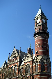 NYC - West Village: Jefferson Market Library | by wallyg