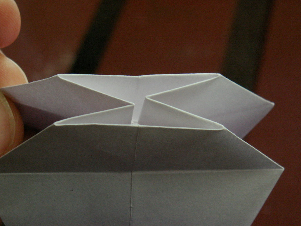 Origami pattern fleur de lys 24 origami fleur de lys pat flickr - Origami fleur de lys ...