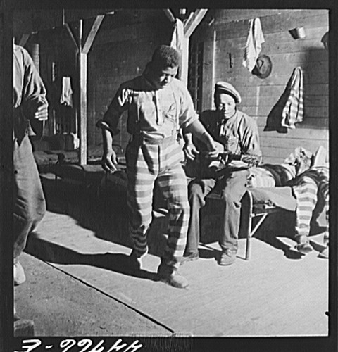No Known Restrictions Prison Dance By Jack Delano Loc