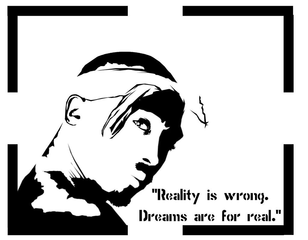 Black Layer For Tupac Stencil.