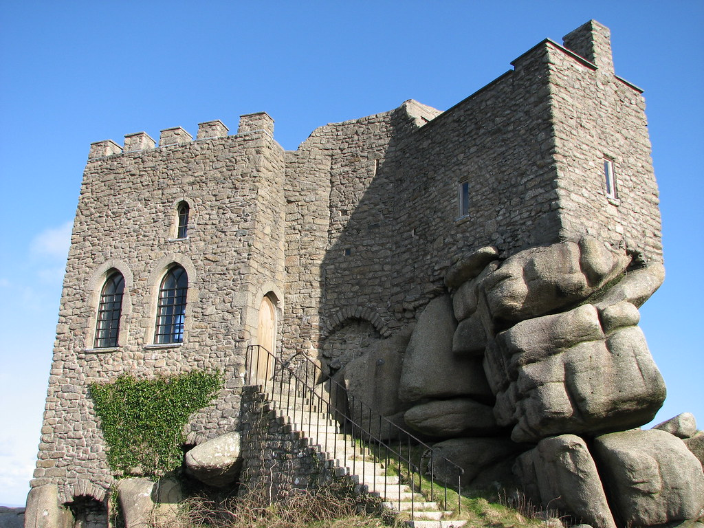 Carn Brea Castle It S Now A Restuarant Mike Rogers