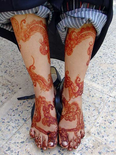 Henna Ala Qatr By Ruqaia Harazi This Is A Photo Of The Leg Flickr