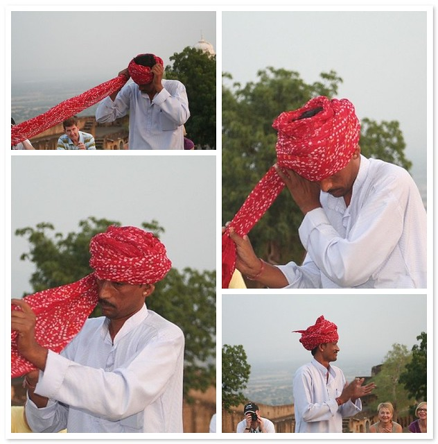 How to put on a turban in one easy lesson. | A member of ...