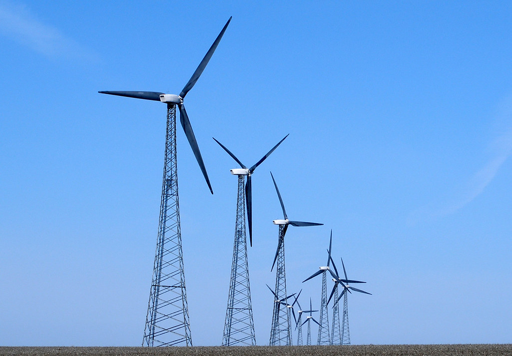 Iowa Wind Farm 1  A Portion Of The World39s Largest
