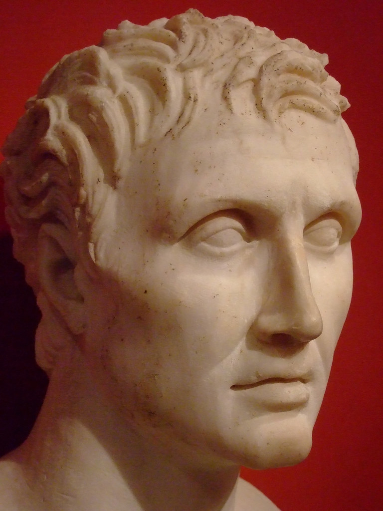 Bust of the Greek play...