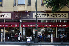 North Beach cafes
