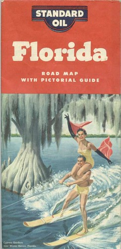 Florida Road Map Cover | by Cowtools