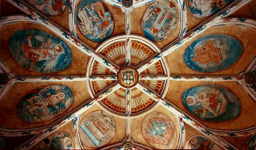Tecamachalco Roof Iglesia Tecamachalco Frescos