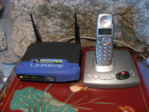 Cordless Internet and phone | by Kai Hendry
