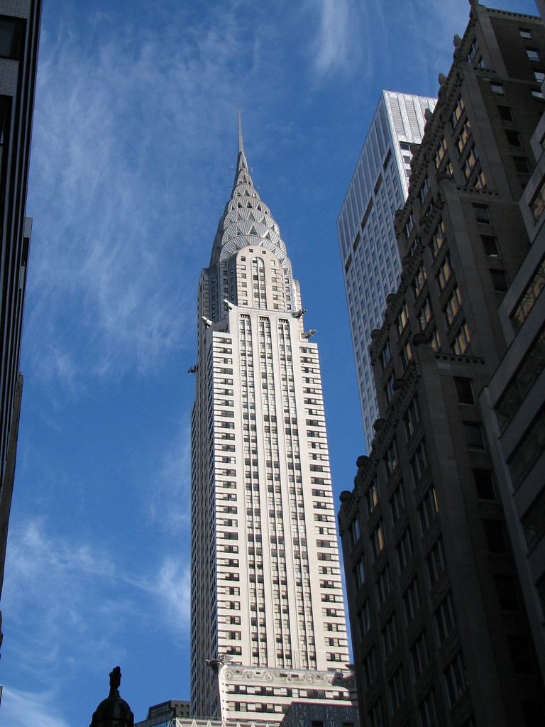 Chrysler Building Second Tallest Building In New York Ci
