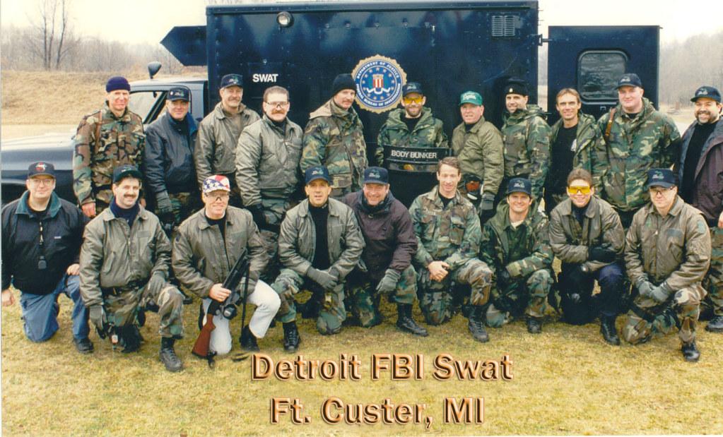 Detroit FBI Swat Ft Custer