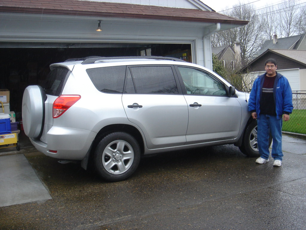 me and my new car me and my new car a 2007 toyota rav4 a flickr. Black Bedroom Furniture Sets. Home Design Ideas