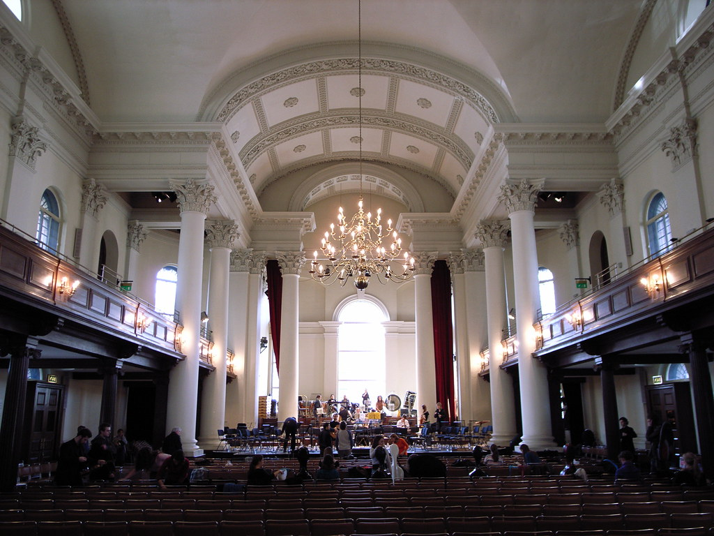 St John Smith Square Interior St John 1714 28 By