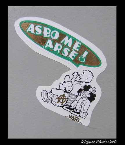 Cork Graffiti Sticker | by K's Photo's