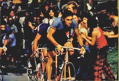 Eddy Merckx on Mount Royal Montreal Canada August 25, 1974 World Championship Road Race | by Ken30684
