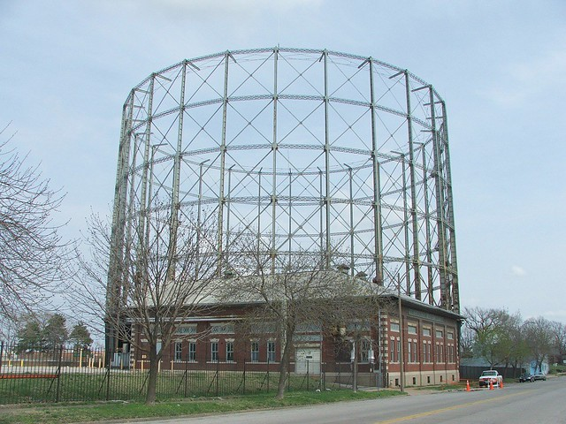 Laclede Gas Co Gasometer On Chouteau Ave 5 St Louis Flickr