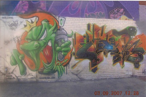 Left side of wall (LOVE THIS CHARACTER!!!!!) | by JJ & Special K