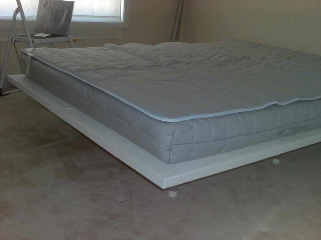 Diy platform bed 1 lowes cut the 4x8 plywood sheets so a flickr - Plywood for platform bed ...