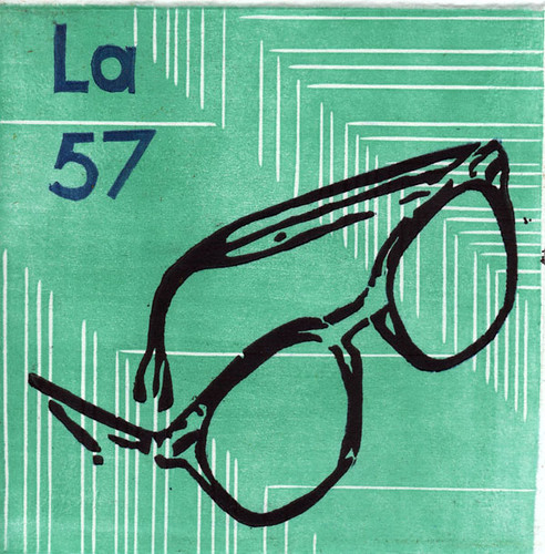 Lanthanum Final For The Periodic Table Printmaking Proje Flickr