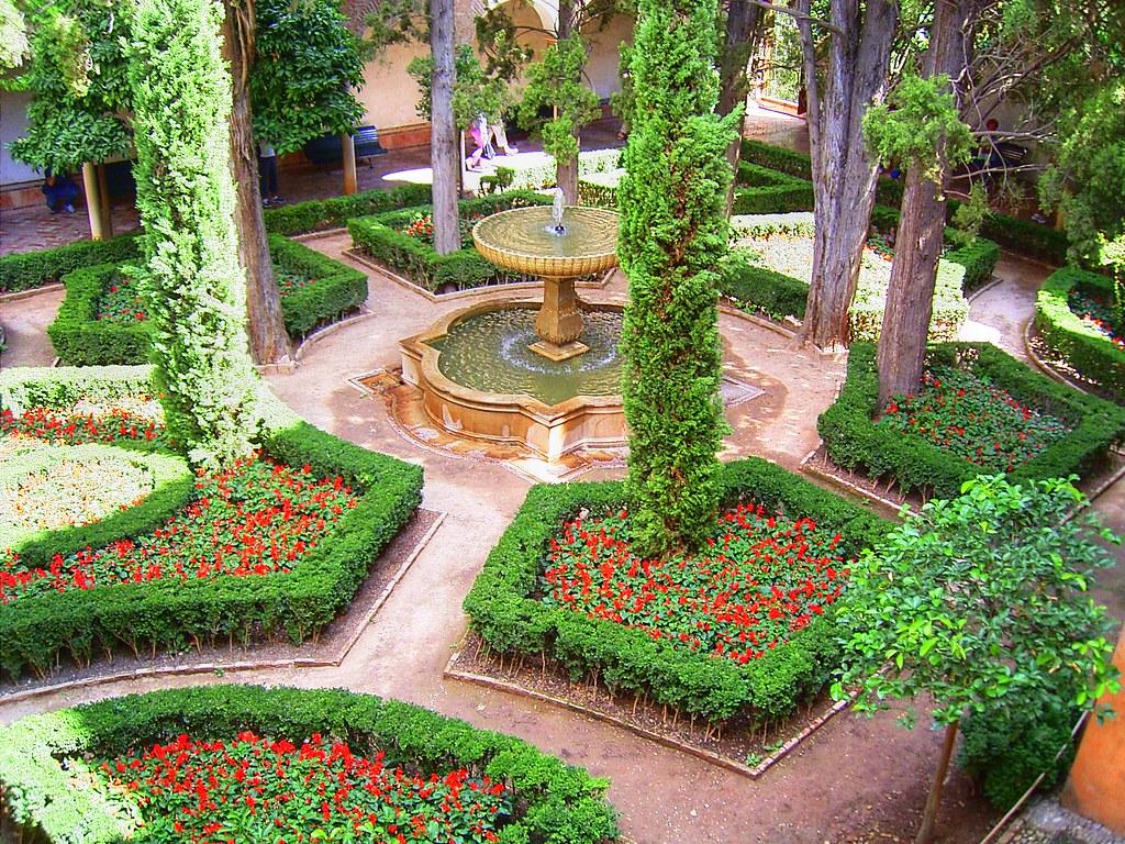 Jardines de daraxa daraxa gardens in the alhambra of for Jardines alhambra