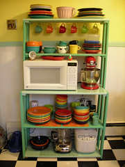 My kitchen hutch | by Beth Lemon