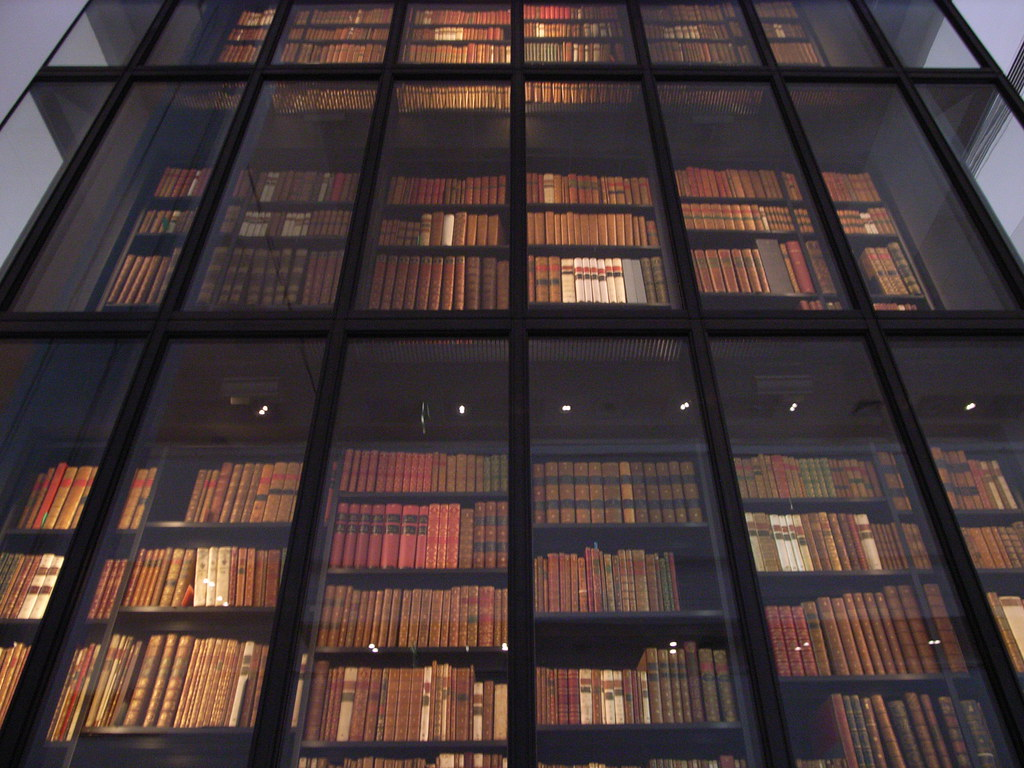 The British Library Book Stacks The British Library