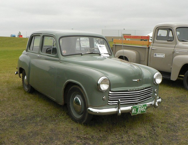 Free Car History Report >> History Road 2005 | 1950 Hillman Minx I talked to the ...