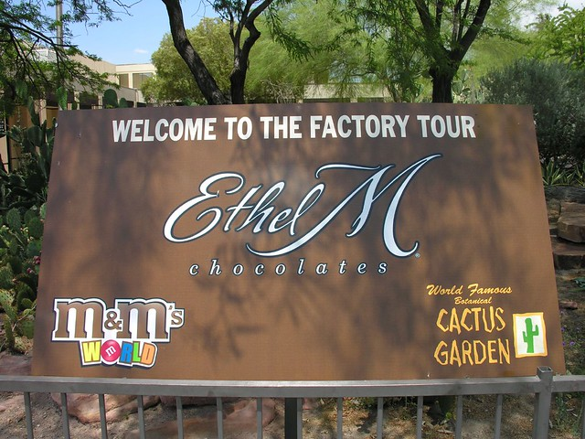 Ethel M Chocolate Factory Cactus Garden Christmas